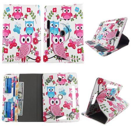 Pink Owl Butterfly tablet case 7 inch for RCA Voyager 2 7
