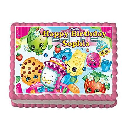Shopkins Birthday Cake Walmart