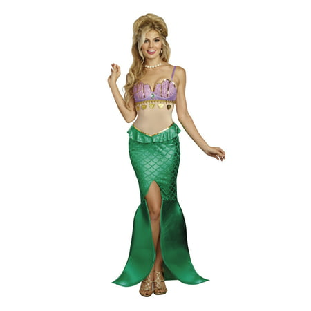 Under The Sea Costume Ideas (Dreamgirl Women's Sea Goddess Mermaid)