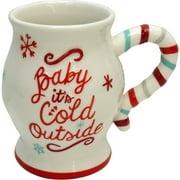 Holiday Time Set Of 2 Colk Outside Jumbo Mug