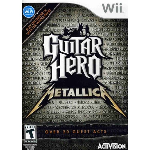 Guitar Hero Metallica (Wii)
