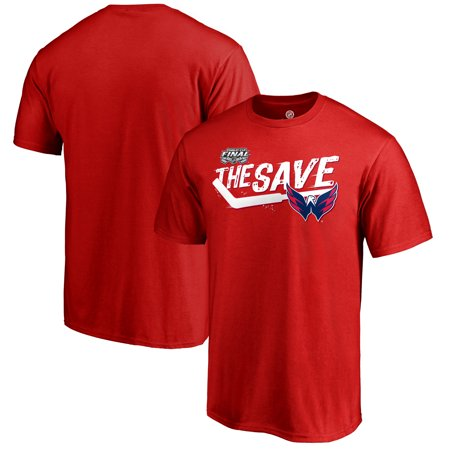 Washington Capitals Fanatics Branded 2018 Stanley Cup Finals The Save T-Shirt -