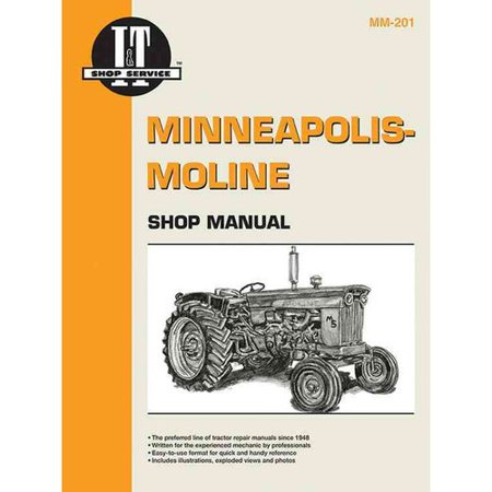 Minneapolis Moline Shop Manual MM-201