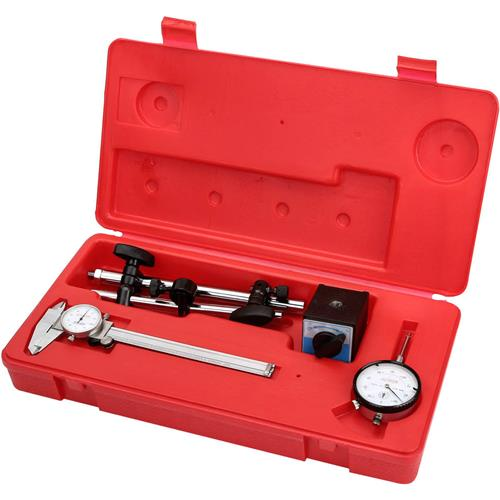 Grizzly H3022 Magnetic Base, Dial Indicator, Caliper Combo pk.