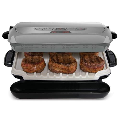George Foreman 5 Serving Multi-plate Evolve Grill - Platinum (grp4842p)