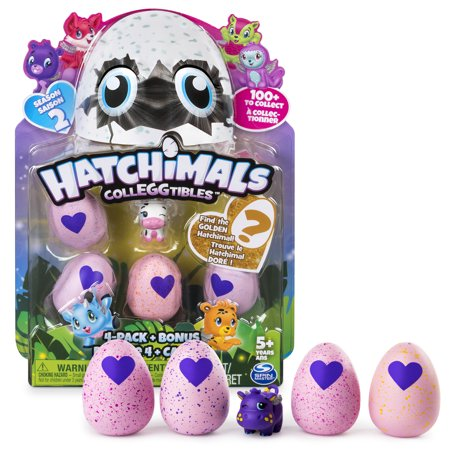 Hatchimals Colleggtibles Season 2   4 Pack   Bonus  Styles   Colors May Vary  By Spin Master