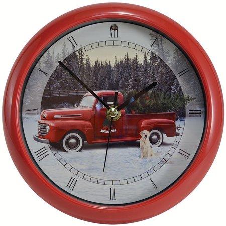 Holiday Clock (Ford Christmas Holiday Truck Clock - 8