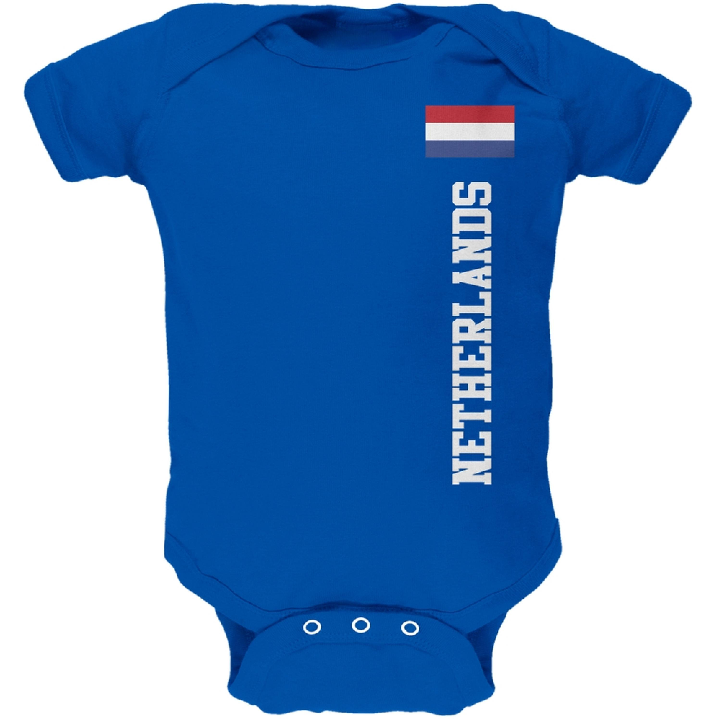World Cup Netherlands Blue Baby One Piece
