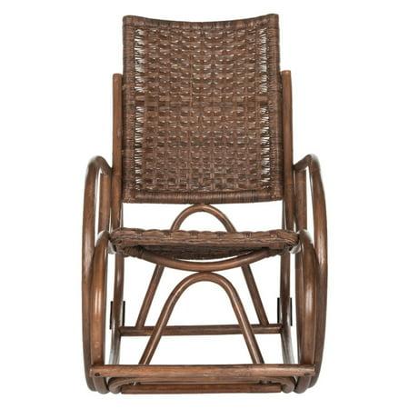 Safavieh Bali Rattan Rocking Chair, Multiple Colors ()