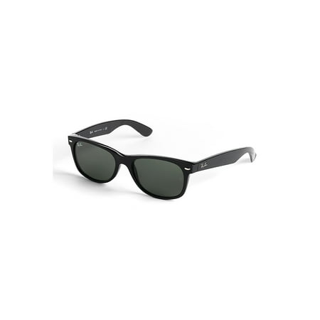 Ray-Ban Unisex RB2132 New Wayfarer Sunglasses, (Ray Ban Justin Polarized Lenses)