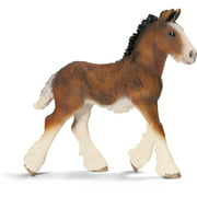 Schleich Shire Foal Figurine