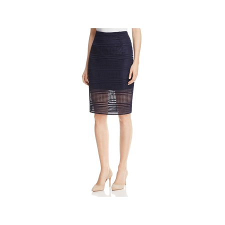 Cashmere Womens Skirt (Cupcakes and Cashmere Womens Derry Crochet Knee-Length Pencil Skirt )
