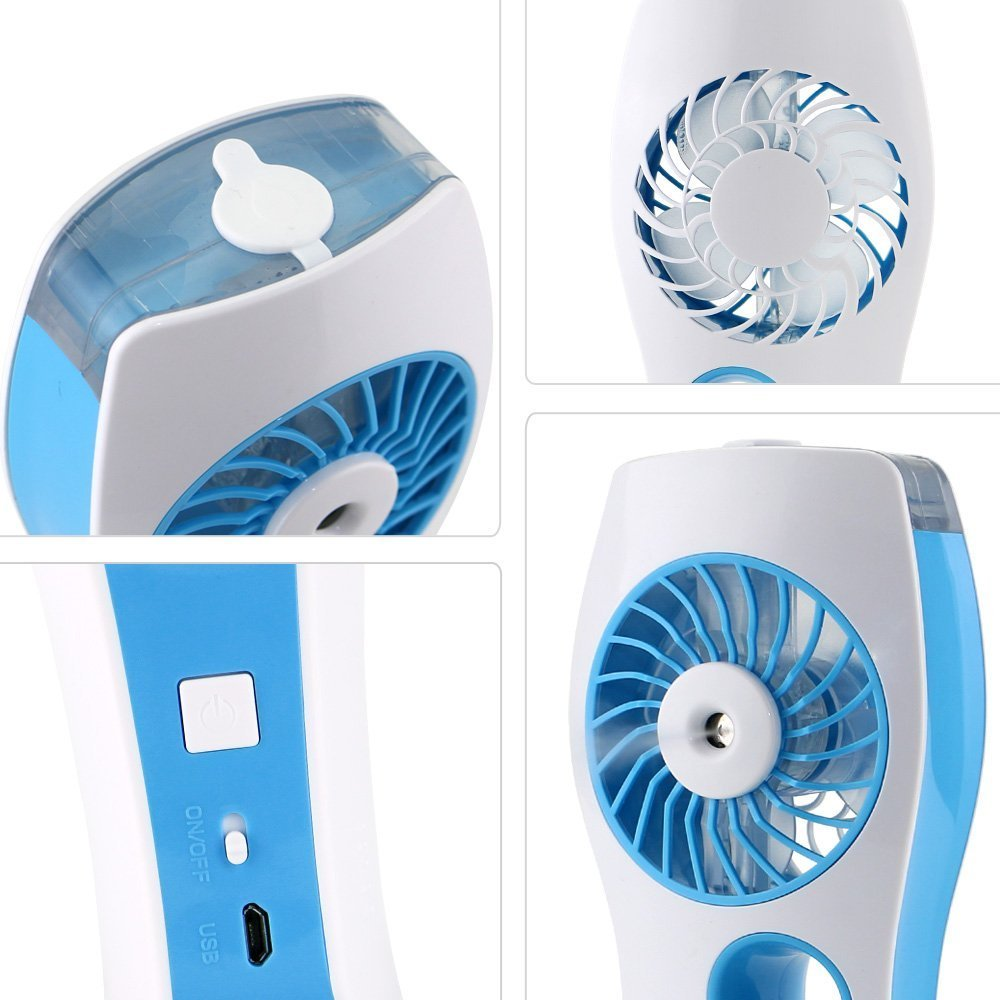 Nice Iegrow Handheld Usb Mini Misting Fan With Personal Cooling Walmartcom   Misting  Fan Portable