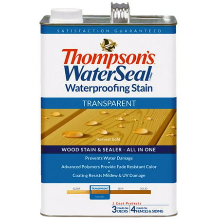 Thompsons WaterSeal Transparent Waterproofing Stain HARVEST GOLD gal