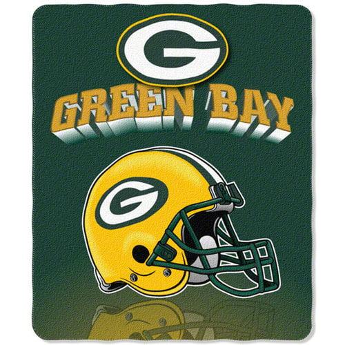 NFL - Green Bay Packers 50x60 Grid Iron Fleece Throw