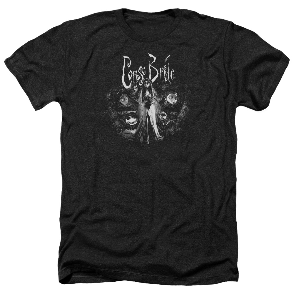 Corpse Bride Bride To Be Mens Heather Shirt