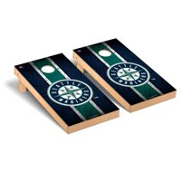 Seattle Mariners 2' x 4' Vintage Cornhole Board Tailgate Toss Set