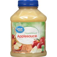 Great Value Unsweetened Applesauce, 46 oz