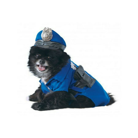 Halloween Police Dog Pet Costume (Boutique Costumes)