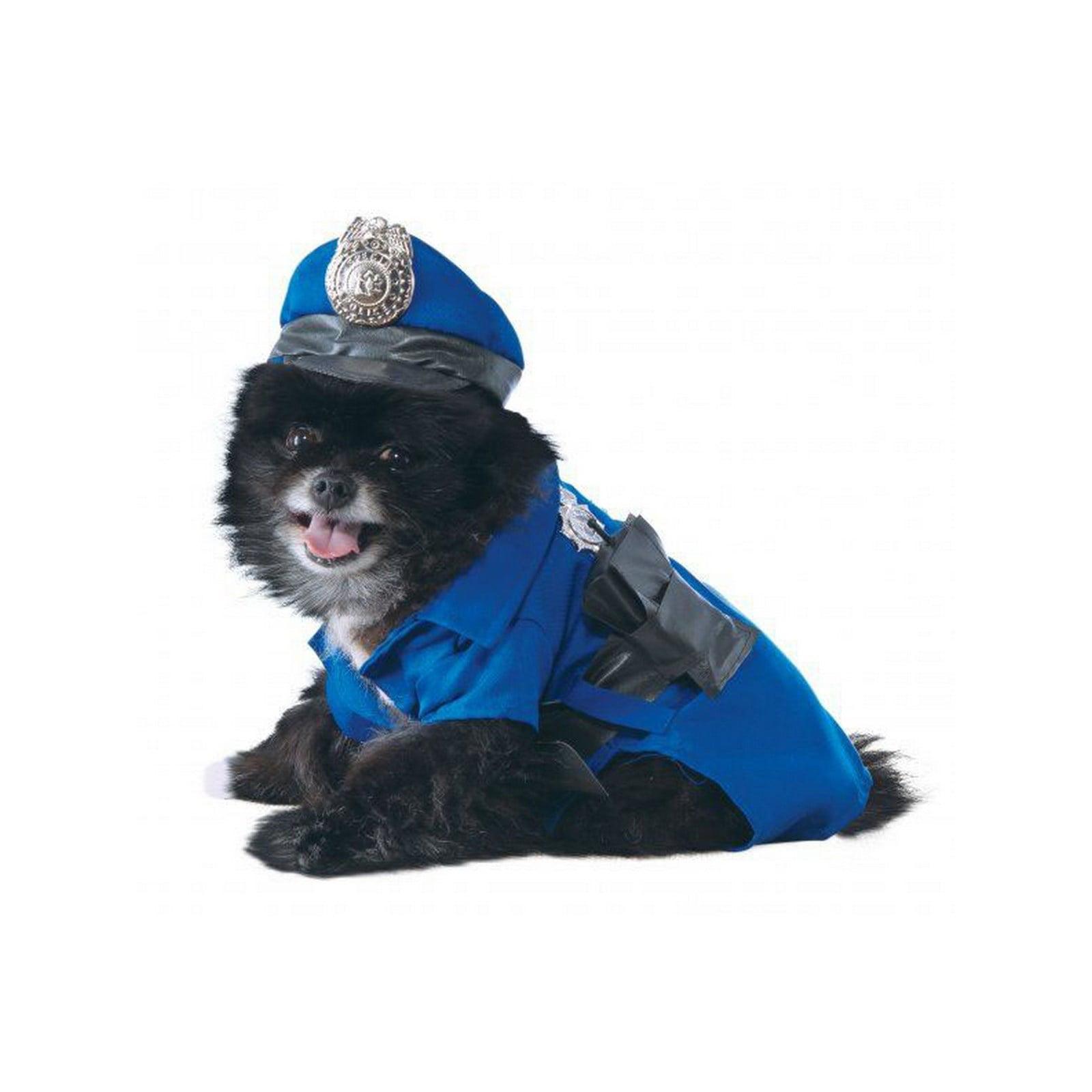 Halloween Police Dog Pet Costume
