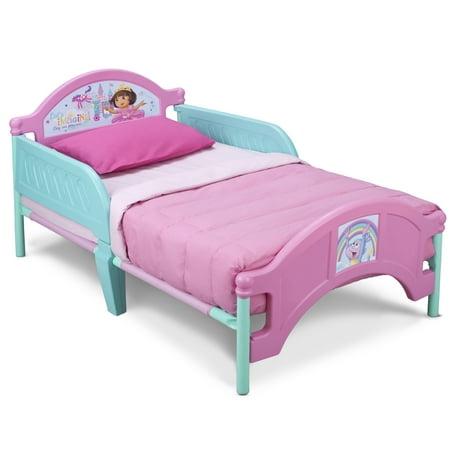 Nick Jr Dora The Explorer Plastic Toddler Bed By Delta