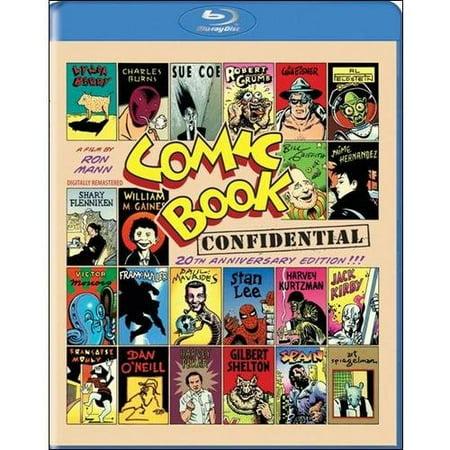 Comic Book Confidential (20th Anniversary Edition) (Blu-ray)