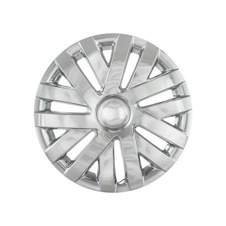 Fits  2010-2013 Volkswagen Jetta - 7 Double Spoke Chrome Wheel Covers IWC50616C