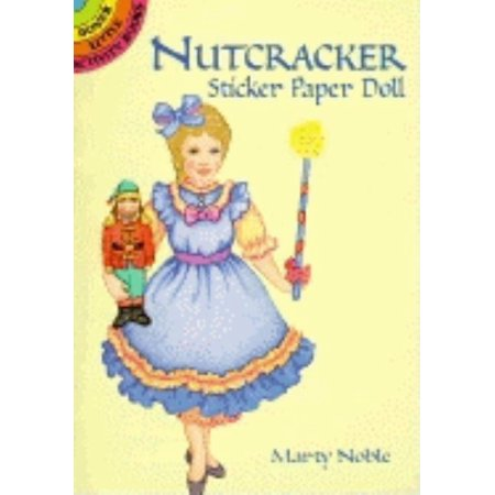 Halloween Paper Dolls To Print (Nutcracker Sticker Paper Doll)