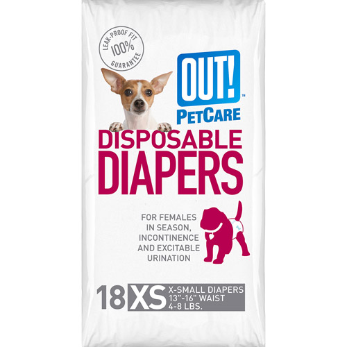 OUT! Disposable Diapers, Size Extra Small