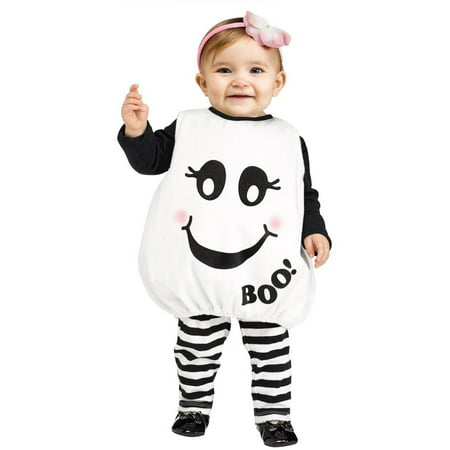 Baby Boo Infant Halloween Costume, Size 6-12 - Cute Twin Baby Halloween Costumes