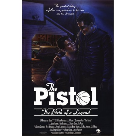 Pistol: The Birth of a Legend POSTER (27x40) (1990) (Style (1990 Legend)
