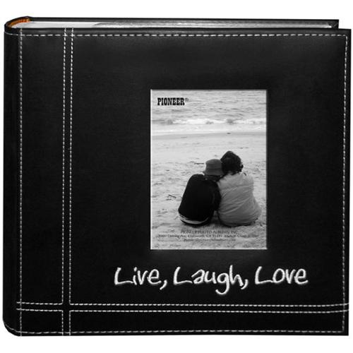Alvin DA200LLL 4 x 6 Life and Laugh with Love Photo Album - 200 Holds