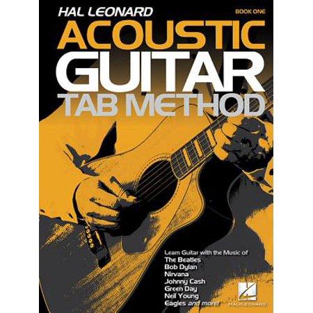 Hal Leonard Acoustic Guitar Tab Method - Book 1 : Book (Tab Guitar Method Book)