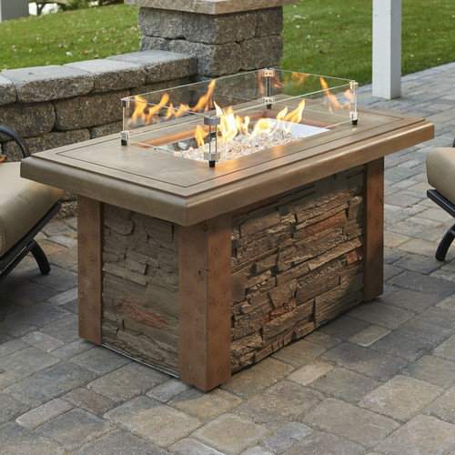 The Outdoor GreatRoom Company Sierra Propane Fire Table