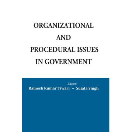 Organizational and Procedural Issues in Government - eBook