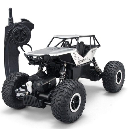 SZJJX RC Cars Off-Road 4WD 2.4Ghz High Speed 1:14 Radio Remote Control Rock Vehicle Crawler Truck Racing Cars Electric Fast Race Buggy Hobby (Fast Racing)