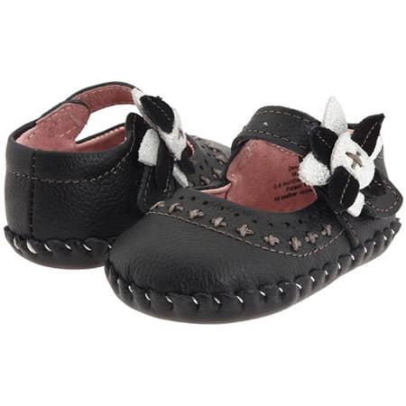 pediped Originals Eva (Infant/Toddler), Black, Large (18-24 Months) Pediped Infant Shoes