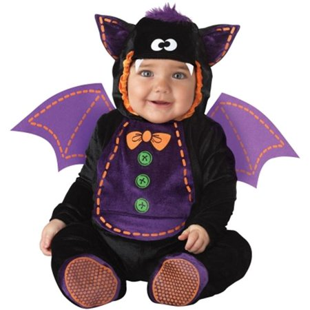 Costumes For All Occasions Ic16009Txs Baby Bat 6-12 Mon