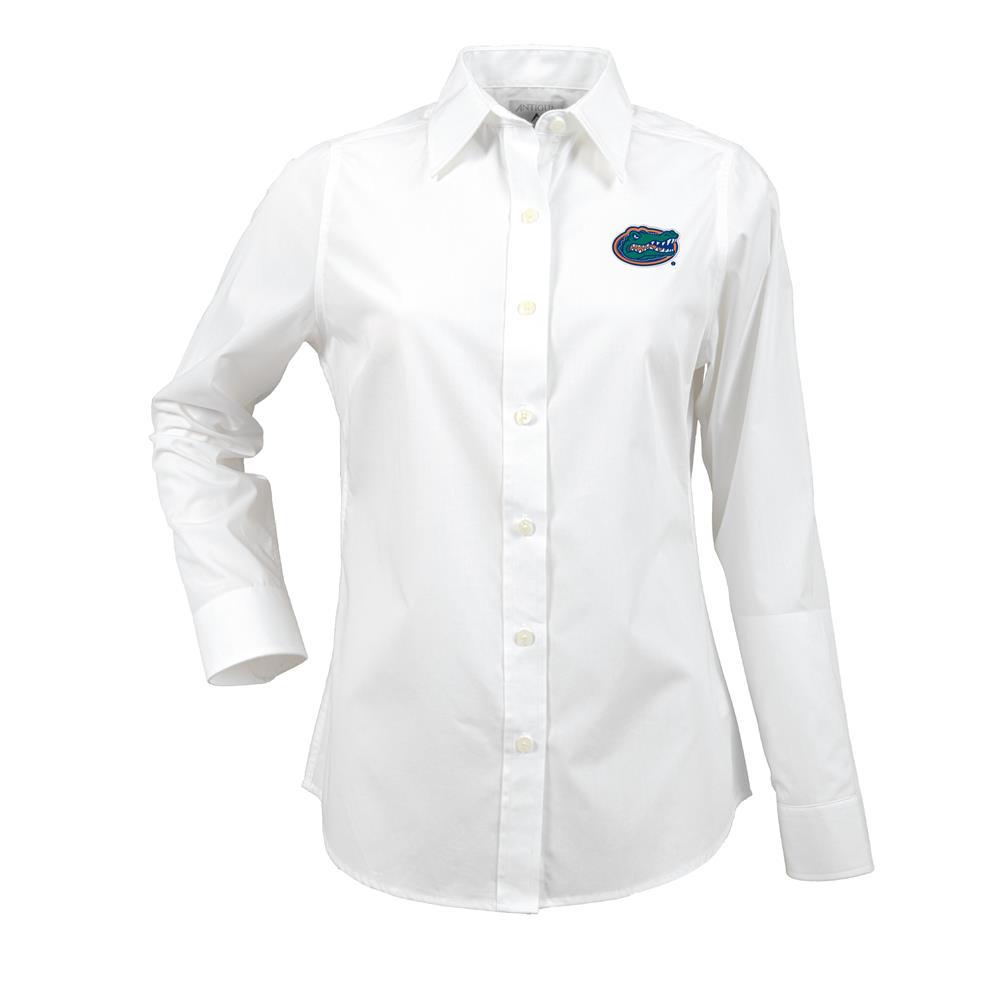 University Of Florida Gators Women S Long Sleeve Dress Shirt
