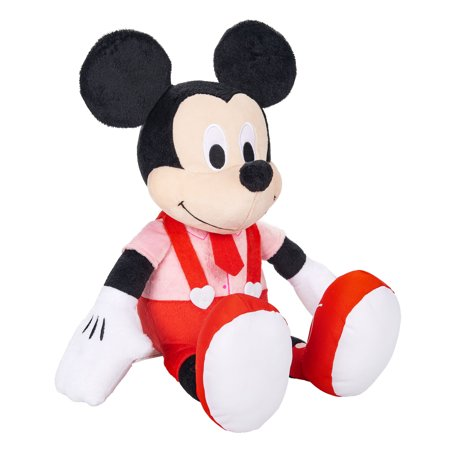 Disney Valentine's Large Plush Mickey Mouse