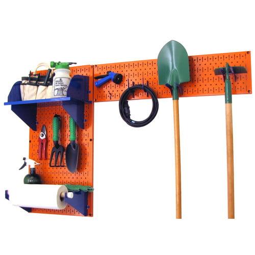 WFX Utility Pegboard Garden Tool Board Organizer Kit