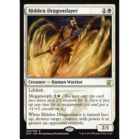 MtG Dragons of Tarkir Hidden Dragonslayer [Foil]