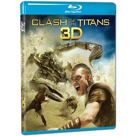 Clash of the Titans (2010) (3D) (Blu-ray + Blu-ray + DVD + Digital