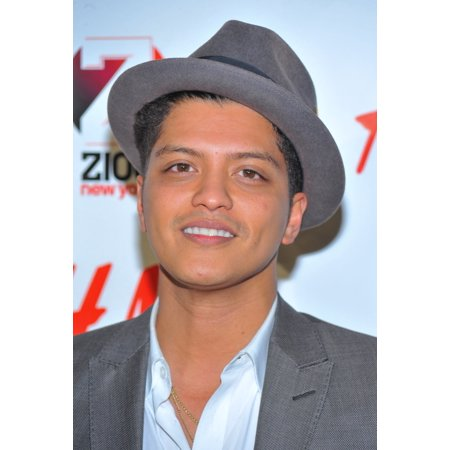 Bruno Mars In Attendance For The Z100 Jingle Ball 2010 Presented By H&M Madison Square Garden New York Ny December 10 2010 Photo By Gregorio T BinuyaEverett Collection Photo Print - H&m Halloween Collection 2017