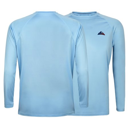 Oneill Uv Protection (HDE Long Sleeve Performance Outdoor T-Shirt for Men UPF 50+ UV Sun Protection)