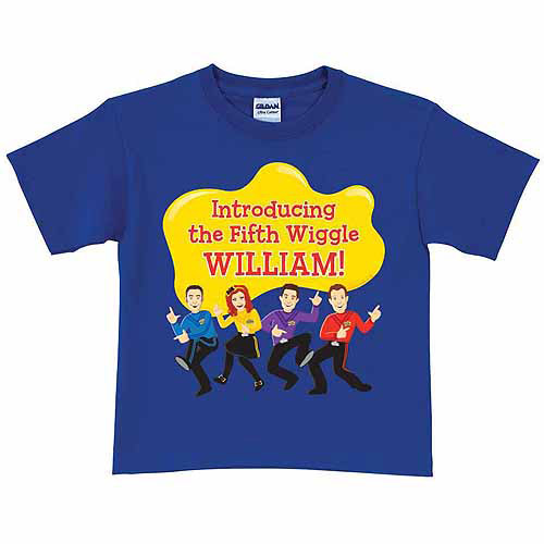 Personalized The Wiggles Fifth Wiggle Toddler Boy T-Shirt, Royal Blue