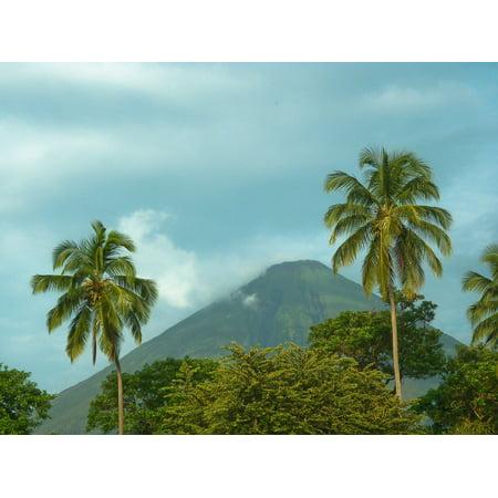 Laminated Poster Nicaragua Ometepe Island Volcanoe Poster Print 11 x 17