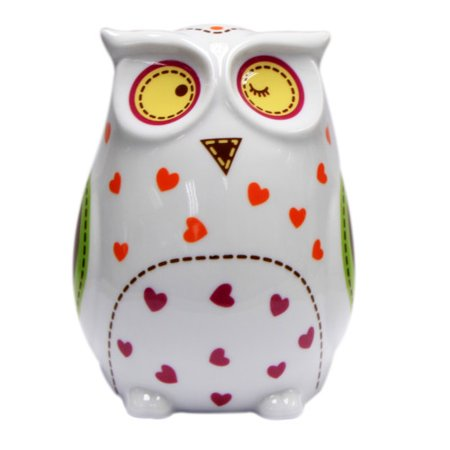 Topchoice Owl Money Piggy Bank