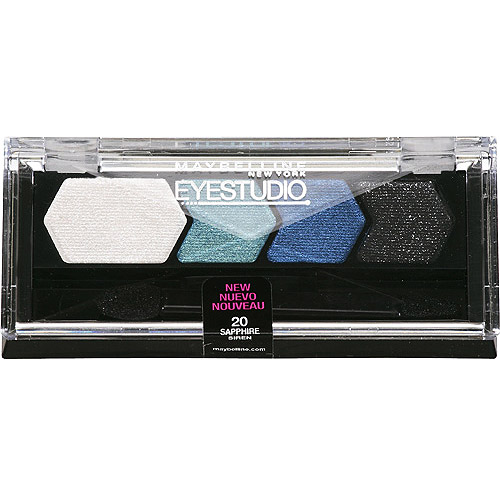 Maybelline EyeStudio Color Plush Silk Eye Shadow Quad Palette