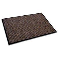 "floortex doortex ribmat, indoor entrance mat, brown, 24"" x 36"" (frecor2436br)"